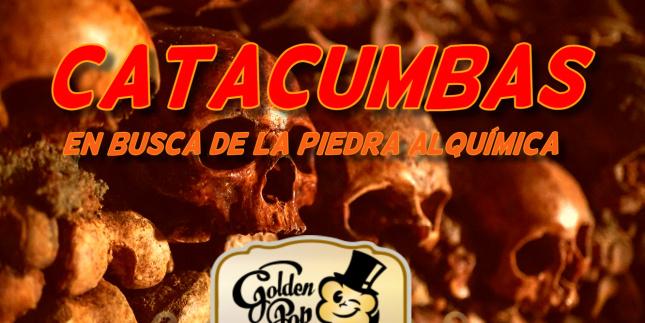 Catacumbas: En busca de la piedra alquímica - Golden Pop (Barcelona) - Review Escape Room