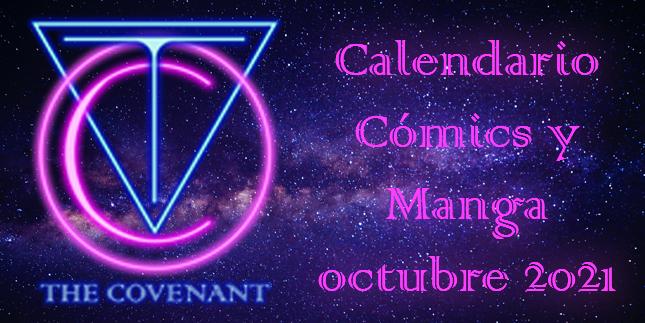 Calendario de Cómics y Manga octubre 2021