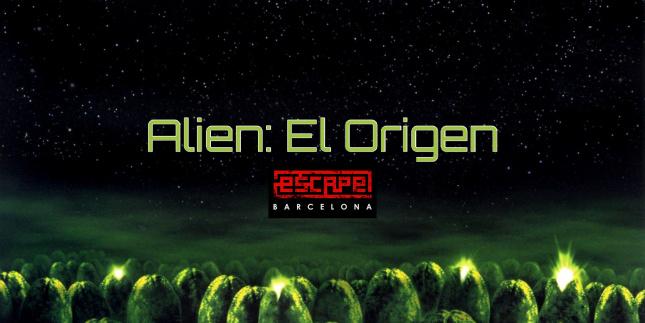 Alien : El Origen - Escape Room